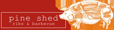 Pine Shed Ribs Logo